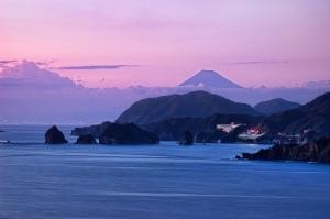 Monte Fuji desde Dōgashima (foto sacada de Internet)
