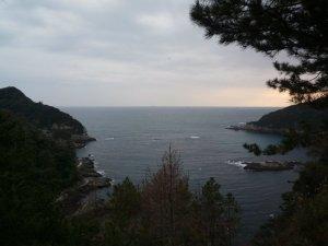 Vistas desde el parque de  Shimoda (Shimoda  Kōen)